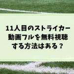 11人目のストライカー(コナン) フル動画を無料視聴!anitube・アニポ・Dailymotionでみれる?